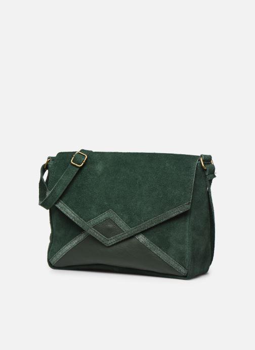 Handbags Georgia Rose Moulia Leather Green model view