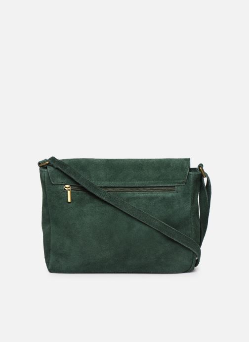 Handbags Georgia Rose Moulia Leather Green front view