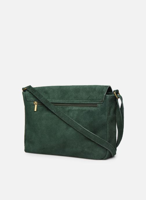 Handbags Georgia Rose Moulia Leather Green view from the right