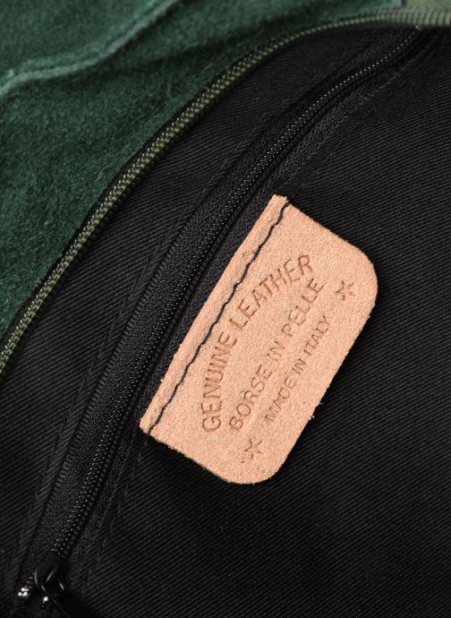 Handbags Georgia Rose Moulia Leather Green back view