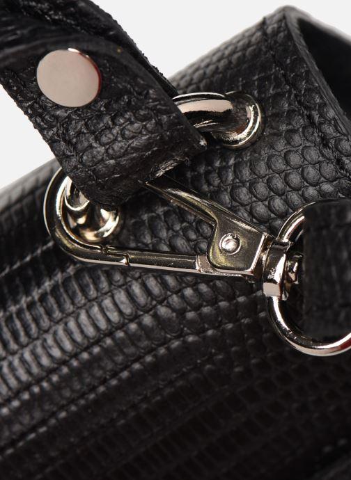 Borse Georgia Rose Minia Leather Nero immagine sinistra
