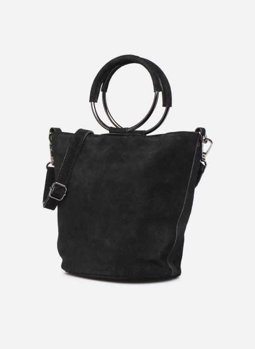 Bolsos de mano Georgia Rose Maty Leather Negro vista del modelo