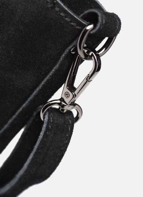 Bolsos de mano Georgia Rose Maty Leather Negro vista lateral izquierda