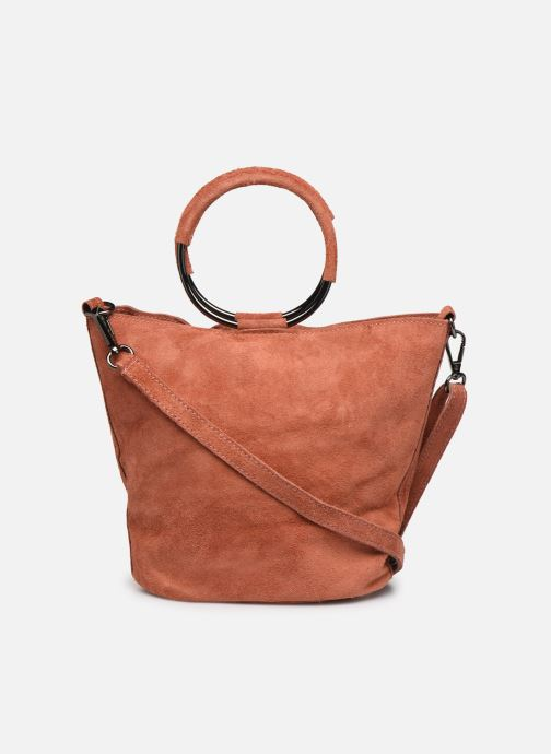 Håndtasker Georgia Rose Maty Leather Orange se forfra