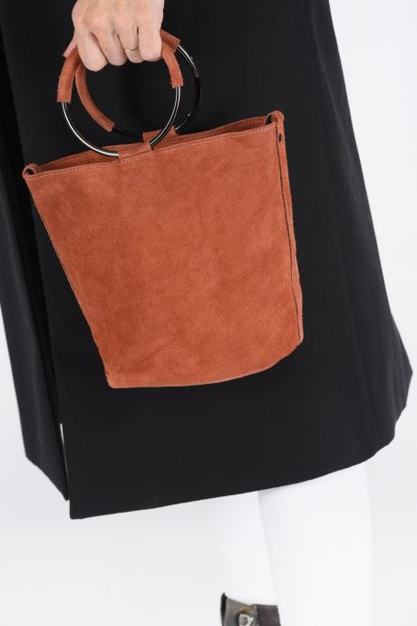 Sacs à main Georgia Rose Maty Leather Orange vue bas / vue portée sac