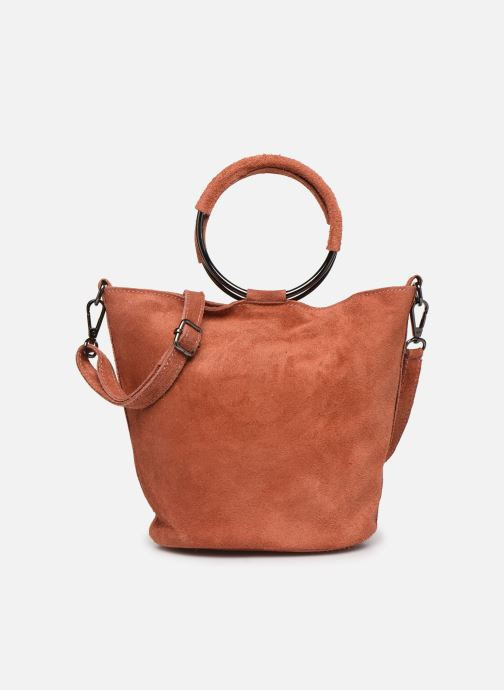 Bolsos de mano Georgia Rose Maty Leather Naranja vista de detalle / par