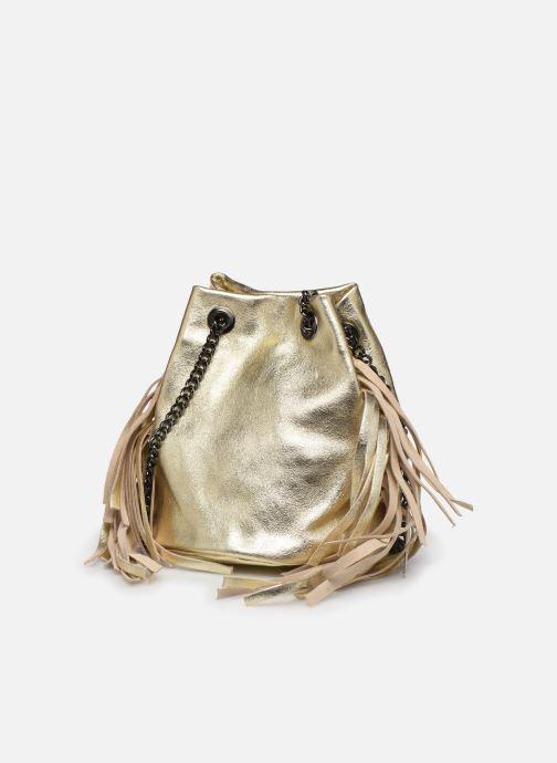 Handbags Georgia Rose Minifrange Leather Bronze and Gold model view