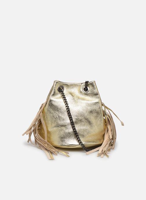 Håndtasker Georgia Rose Minifrange Leather Guld og bronze se forfra