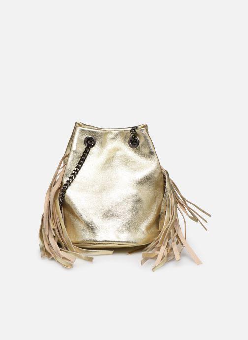 Bolsos de mano Georgia Rose Minifrange Leather Oro y bronce vista de detalle / par