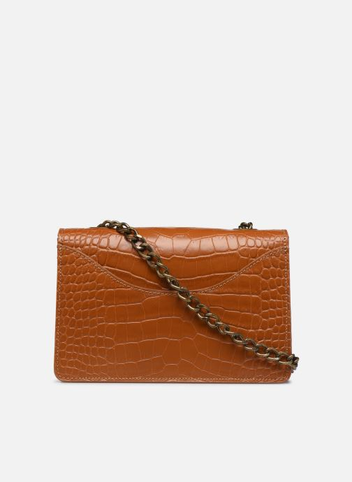 Håndtasker Georgia Rose Many Leather Brun se forfra