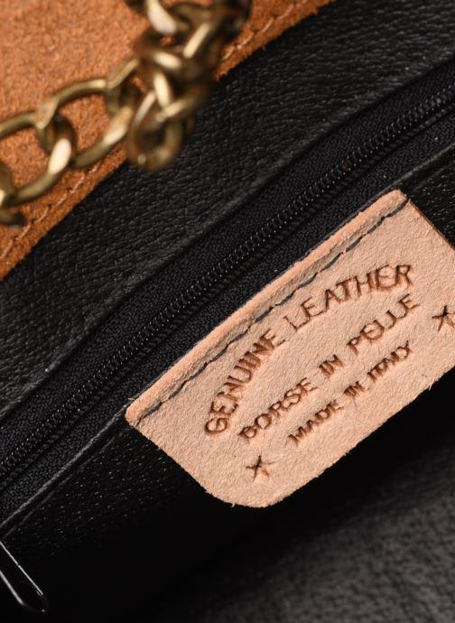 Handtassen Georgia Rose Many Leather Bruin achterkant