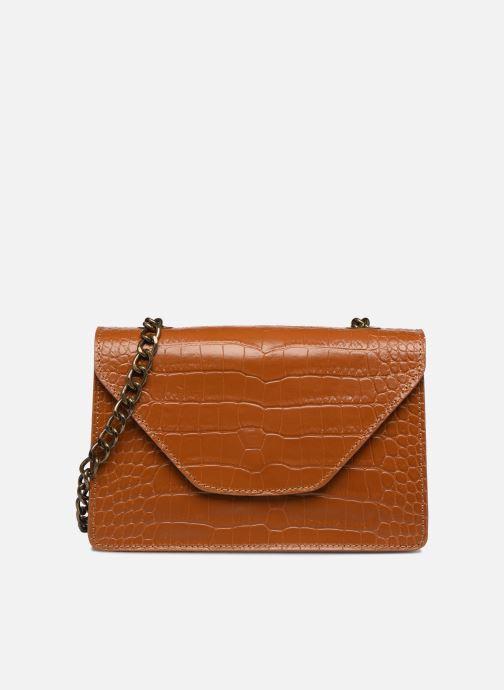 Handtassen Georgia Rose Many Leather Bruin detail