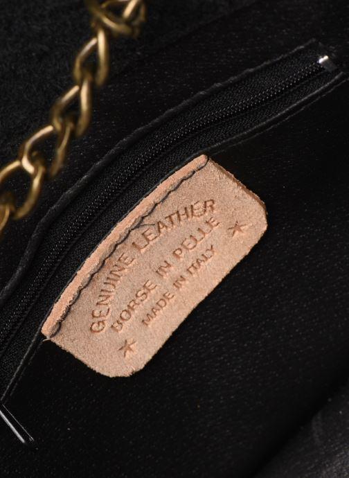 Sacs à main Georgia Rose Many Leather Noir vue derrière