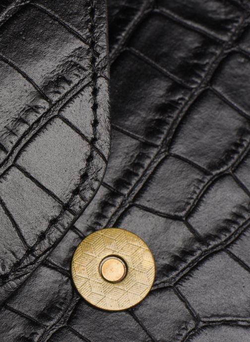 Sacs à main Georgia Rose Many Leather Noir vue gauche