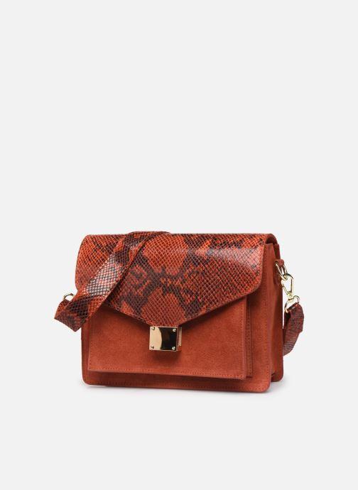 Handbags Georgia Rose Monpython Leather Red model view