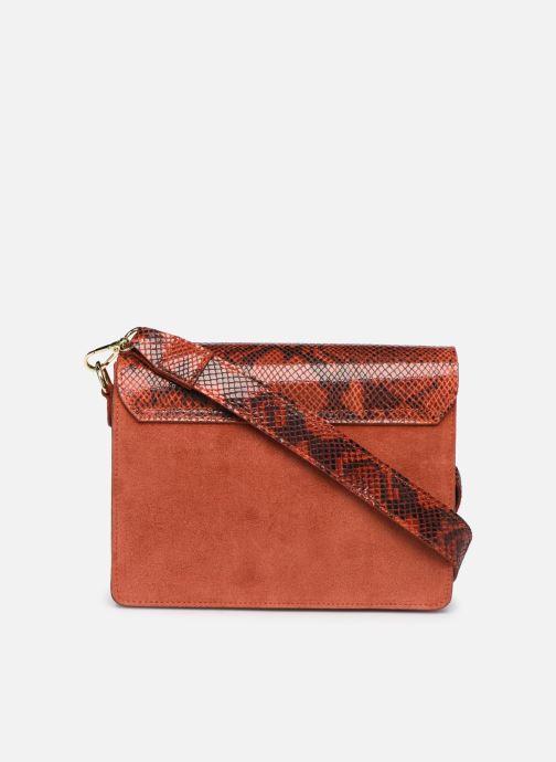 Handbags Georgia Rose Monpython Leather Red front view