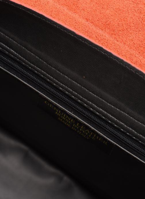 Sacs à main Georgia Rose Monpython Leather Rouge vue derrière