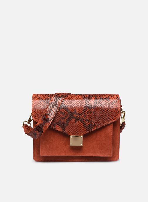 Sacs à main Georgia Rose Monpython Leather Rouge vue détail/paire