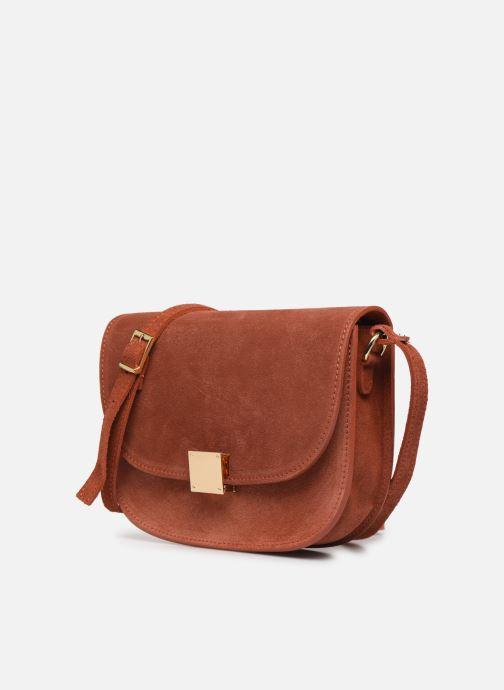 Håndtasker Georgia Rose Manou Leather Orange se skoene på