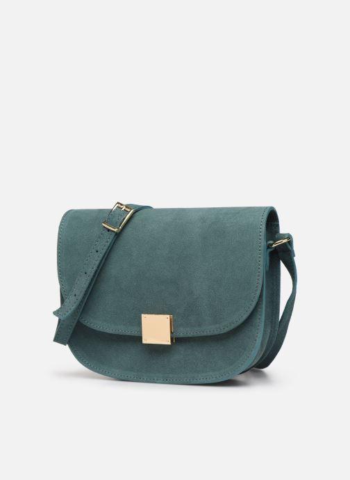 Handbags Georgia Rose Manou Leather Blue model view