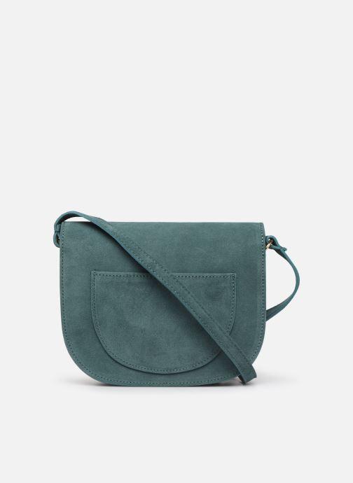 Handbags Georgia Rose Manou Leather Blue front view