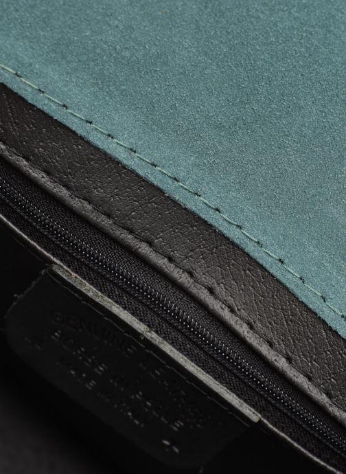 Handtassen Georgia Rose Mariska Leather Blauw achterkant