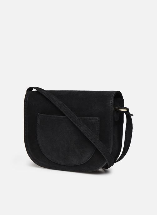 Bolsos de mano Georgia Rose Mariska Leather Negro vista lateral derecha