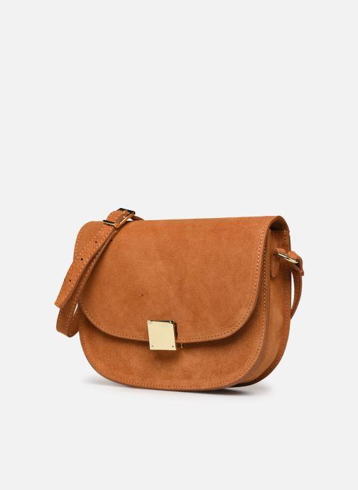 Handbags Georgia Rose Mariska Leather Brown model view