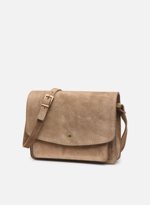 Bolsos de mano Georgia Rose Mima Leather Beige vista del modelo