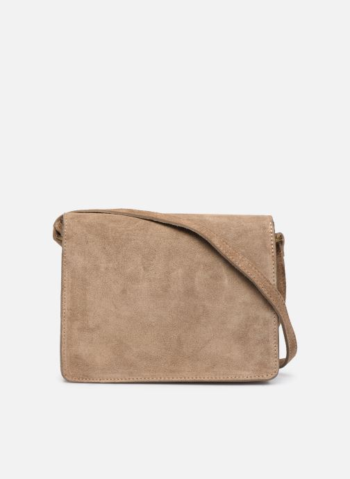 Bolsos de mano Georgia Rose Mima Leather Beige vista de frente
