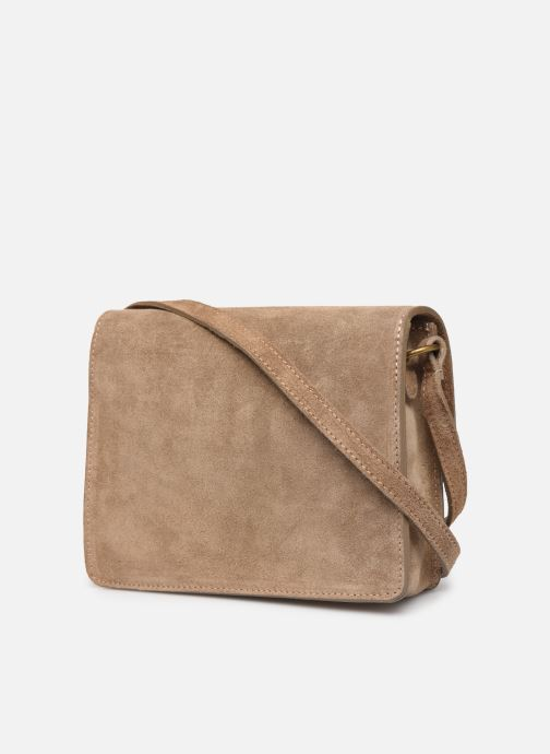 Bolsos de mano Georgia Rose Mima Leather Beige vista lateral derecha