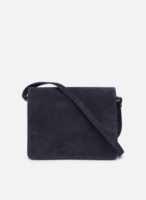 Håndtasker Georgia Rose Mima Leather Blå se forfra