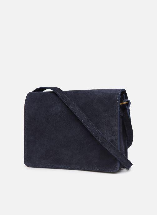 Håndtasker Georgia Rose Mima Leather Blå Se fra højre