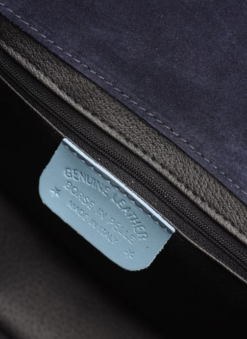 Håndtasker Georgia Rose Mima Leather Blå se bagfra