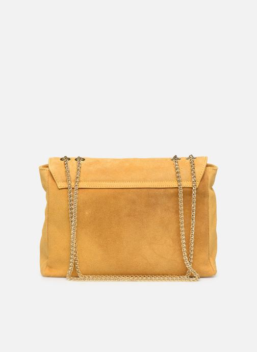 Handbags Georgia Rose Mery Medium Leather Yellow front view