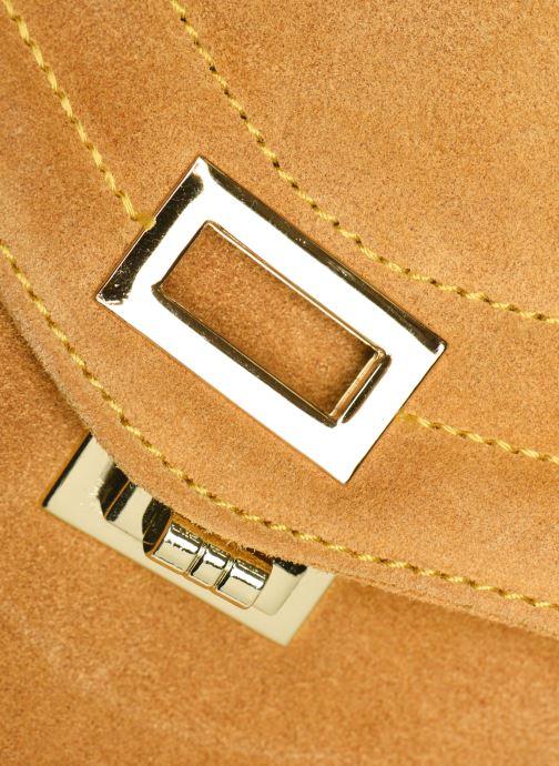 Bolsos de mano Georgia Rose Mery Medium Leather Amarillo vista lateral izquierda