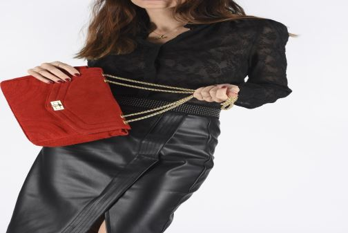 Sacs à main Georgia Rose Mery Medium Leather Jaune vue bas / vue portée sac