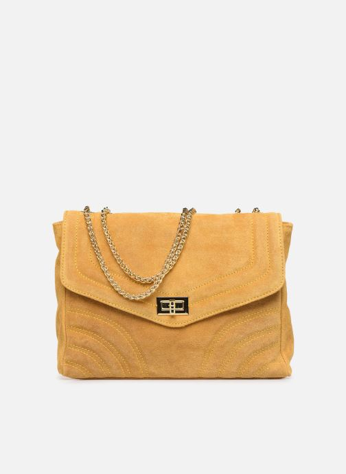Bolsos de mano Georgia Rose Mery Medium Leather Amarillo vista de detalle / par