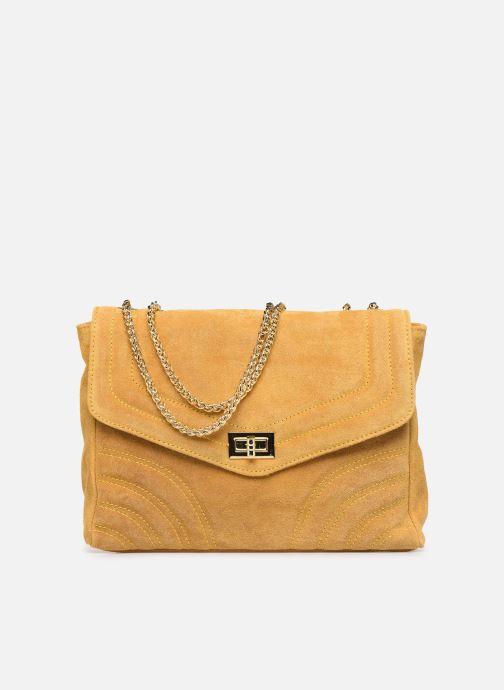 Handbags Georgia Rose Mery Medium Leather Yellow detailed view/ Pair view