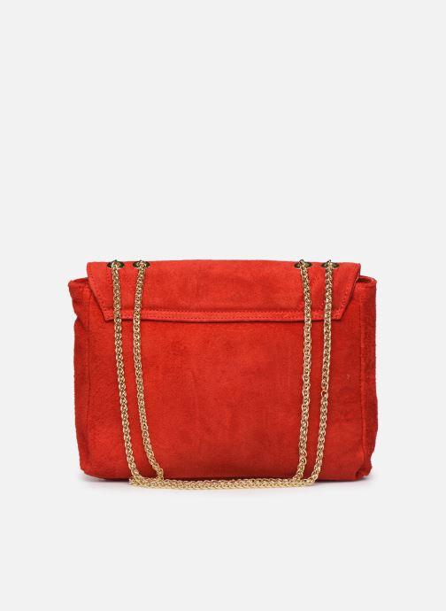 Handbags Georgia Rose Mery Medium Leather Red front view