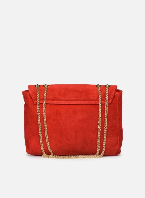 Håndtasker Georgia Rose Mery Medium Leather Rød se forfra