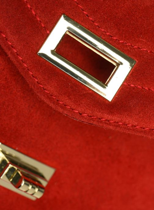 Handtassen Georgia Rose Mery Medium Leather Rood links