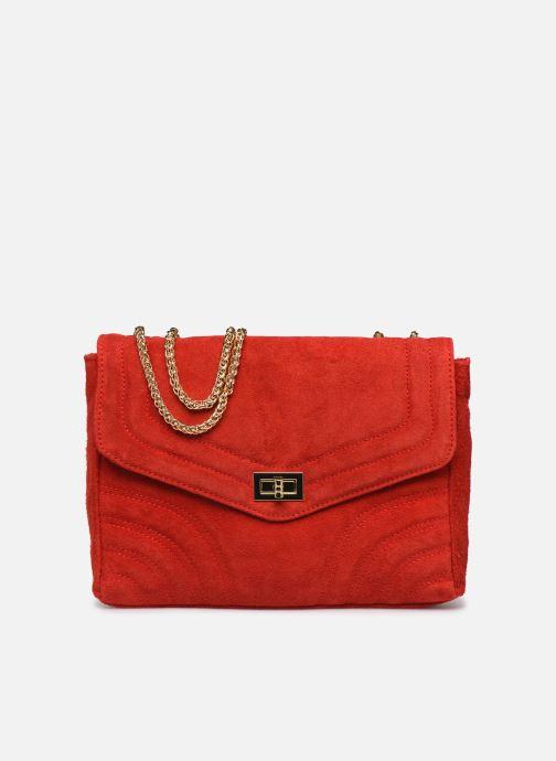 Handtassen Georgia Rose Mery Medium Leather Rood detail