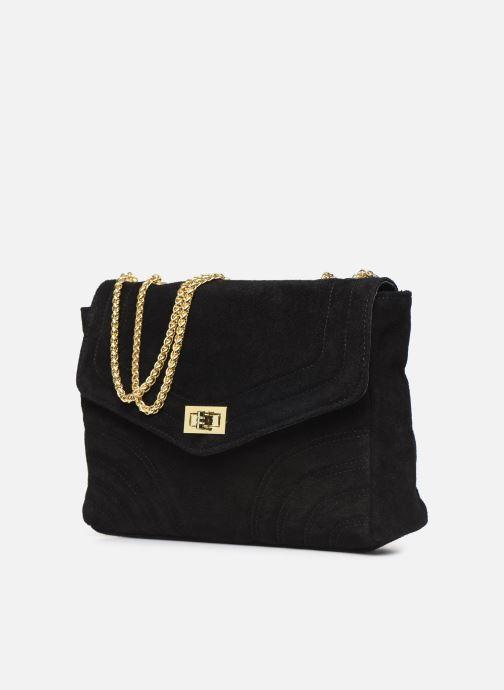Handtassen Georgia Rose Mery Medium Leather Zwart model