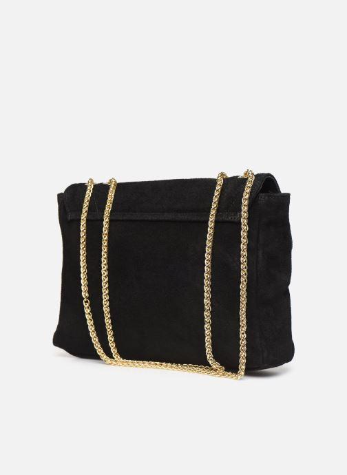 Handtassen Georgia Rose Mery Medium Leather Zwart rechts