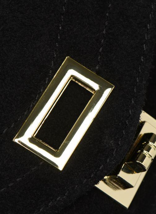 Sacs à main Georgia Rose Mery Medium Leather Noir vue gauche
