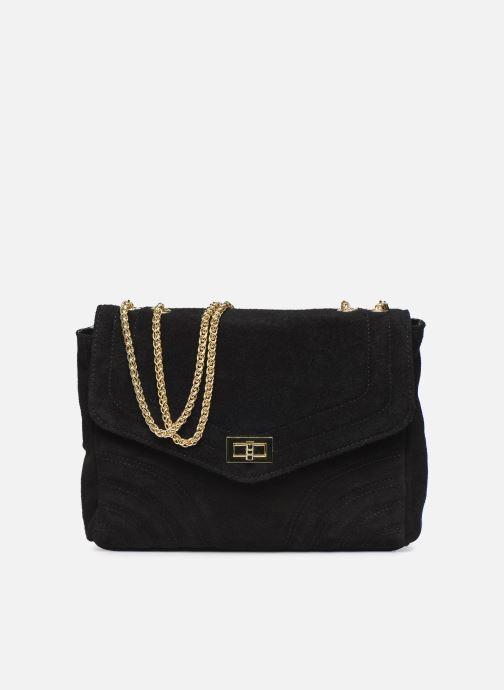 Handtassen Georgia Rose Mery Medium Leather Zwart detail