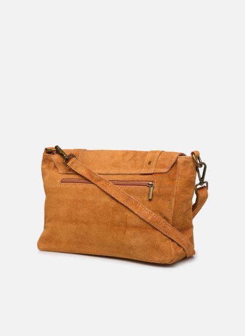 Handtassen Georgia Rose Moncartable Leather Geel rechts