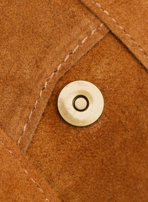 Handtassen Georgia Rose Moncartable Leather Geel links