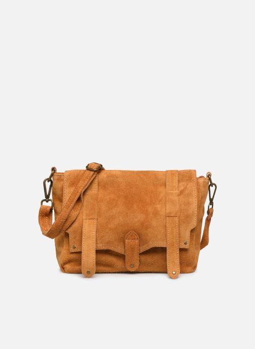Handbags Georgia Rose Moncartable Leather Yellow detailed view/ Pair view